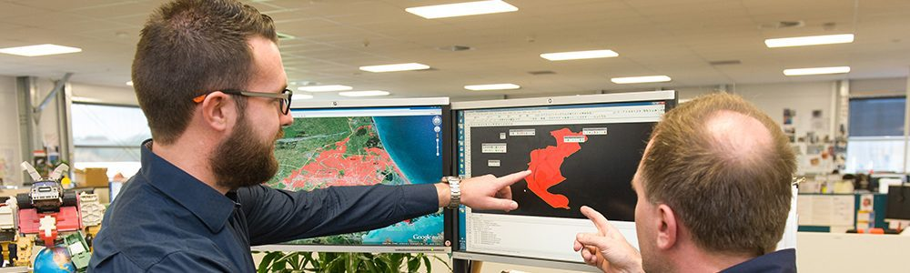 Geographic Information System Support of the Rebuild