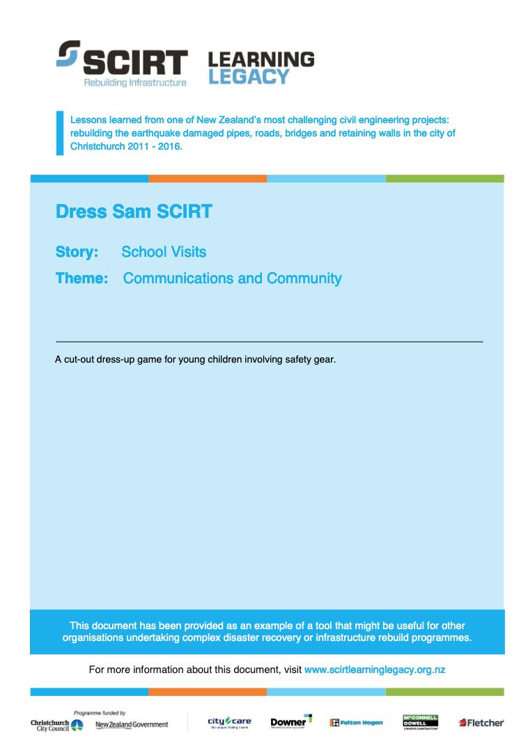 Dress Sam SCIRT Cover