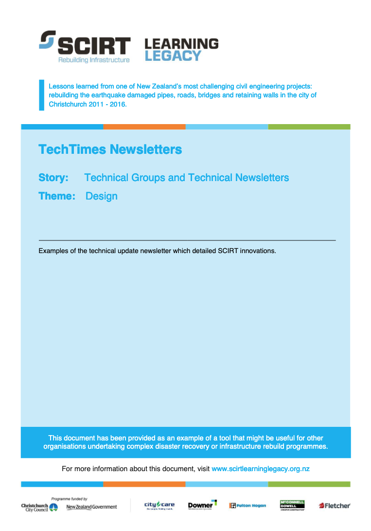 TechTimes Newsletters Cover