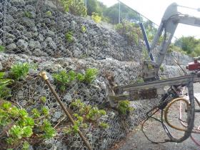 Refurbishment of Gabion Walls with Anchors – a Trial