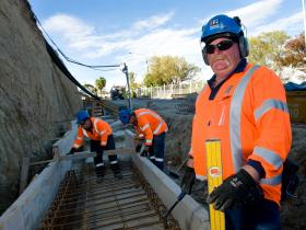 Sumner Road Retaining Wall – Stage 4